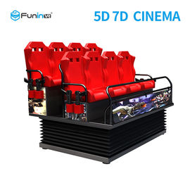 Çin 70 PCS 5D Movies + 7 PCS 7D Shooting Games DOF Electric 7D Cinema Equipment Fabrika
